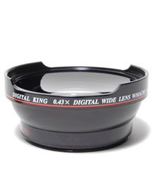 Digital King Extreme Wide Angle Converter 043x