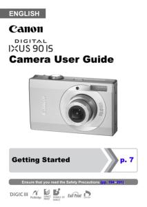 canon ixus 90 is instruction manual rh eos magazine shop com Canon Camera User Manual canon powershot sd790 is user guide