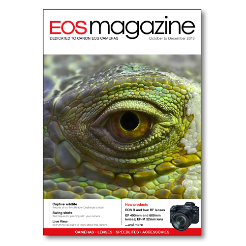 EOS magazine October-December 2018 back issue