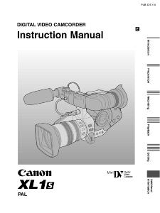Canon XL1S instruction manual (reprint)