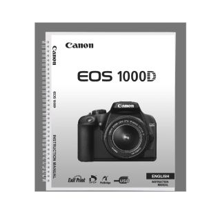 canon eos 1000d instruction manual rh eos magazine shop com Pictures Taken with Canon Rebel EOS 1000D Canon PowerShot SX10 Is Manual