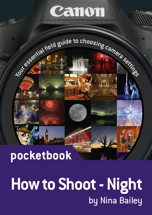 How to shoot: Night Pocketbook