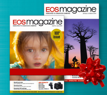 EOS magazine Gift Subscription