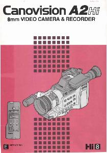 Canon A2 Hi instruction manual (reprint)