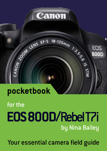 Canon EOS 800D / Rebel T7i Pocketbook