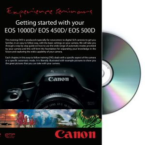 Getting started with your EOS 1000D/450D/500D DVD