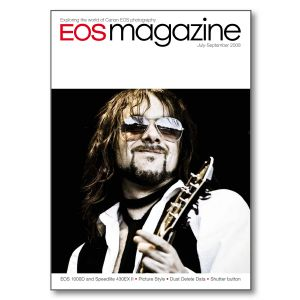 EOS magazine July-September 2008 back issue