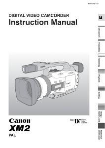 Canon XM2 instruction manual (reprint)